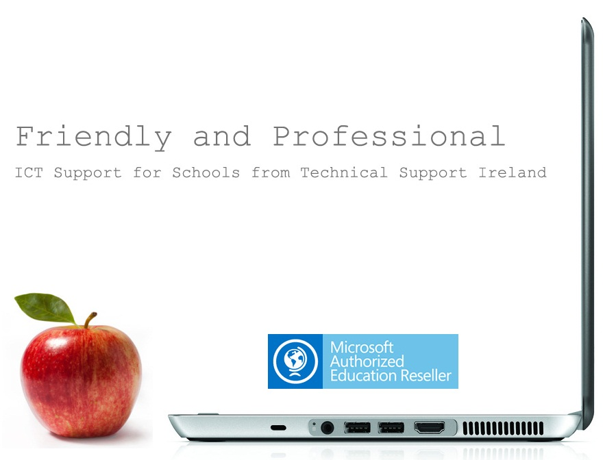 Schools ICT support friendly and professional